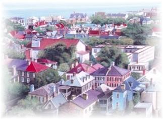 View of Charleston SC